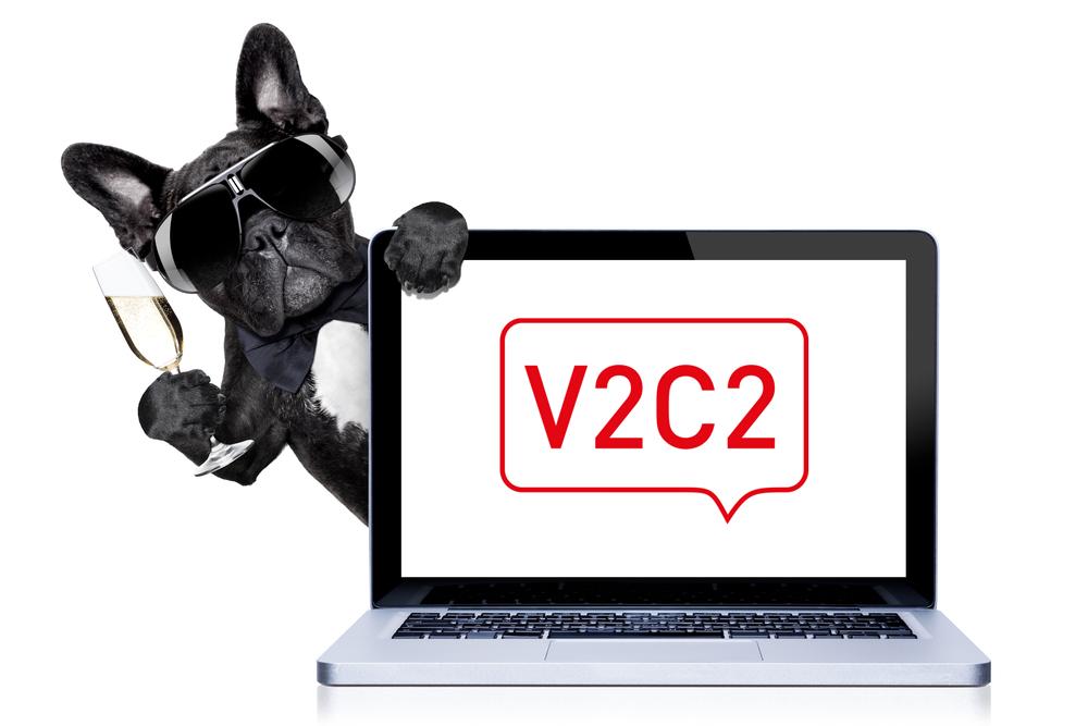 Nieuwe website V2C2